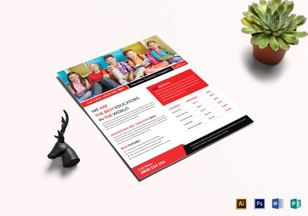 editable-education-training-flyer-template