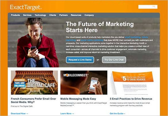 email marketing software exacttarget