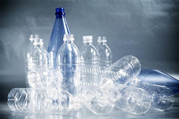 empty plastic water bottles template