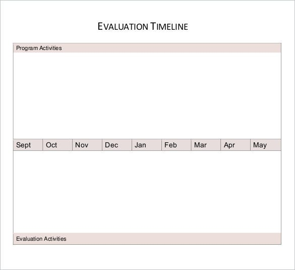 evaluation-timeline-worksheet