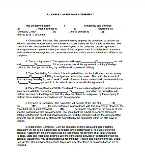 12 consultant contract templates free word pdf documents download example business consultant contract pdf download platinumwayz