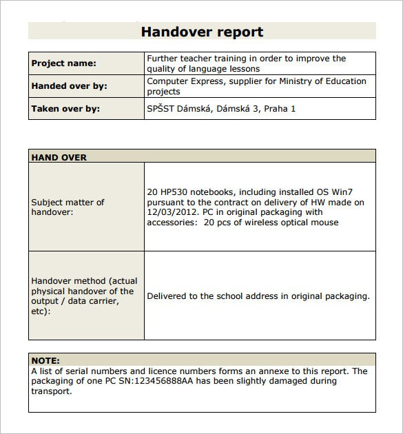 Report Template – 15+ Free Word, PDF Documents Download | Free ...