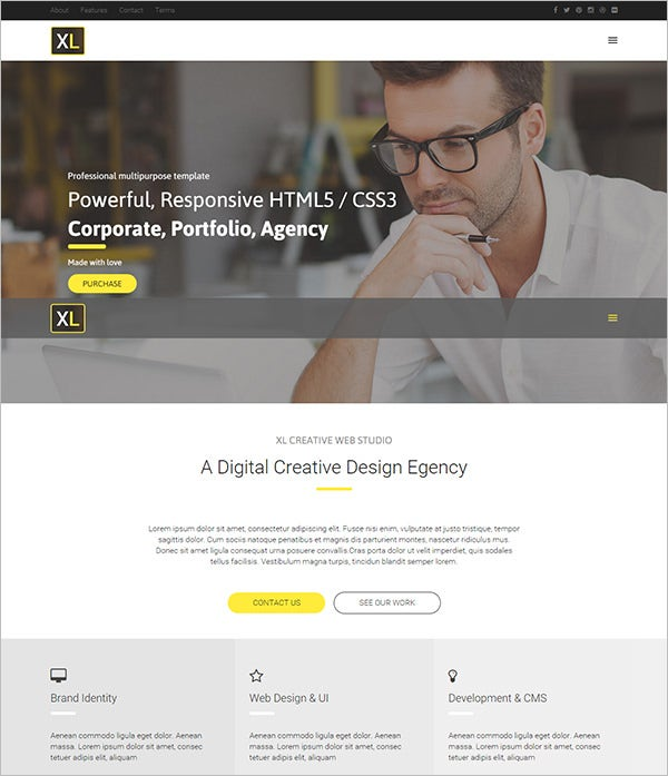 extra large multipurpose html template