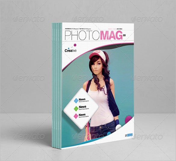 eye catching psdtemplate magazine cover 5
