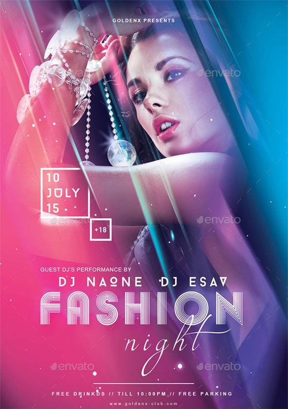 21 fashion flyer psd templates designs free for Fashion designing templates free download