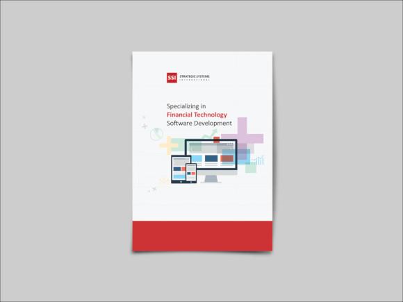 fintech brochure design
