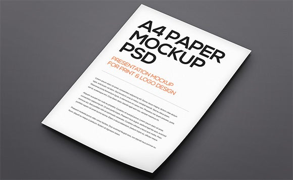 a4 paper psd mockup template  u2013 37  free psd  indesign formats download