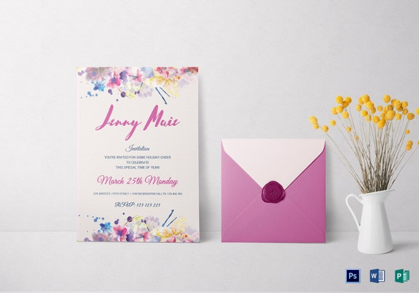 floral-watercolor-debut-invitation-template