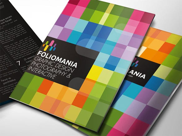 foliomania brochure template