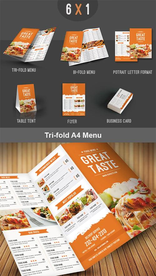 food menu pack