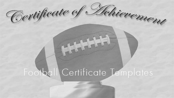 footballcertificatetemplates