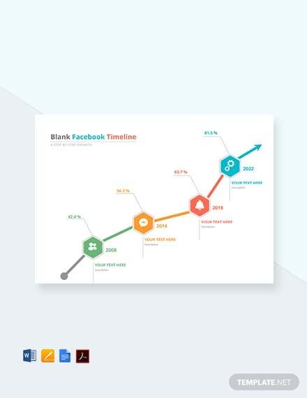 free blank facebook timeline template