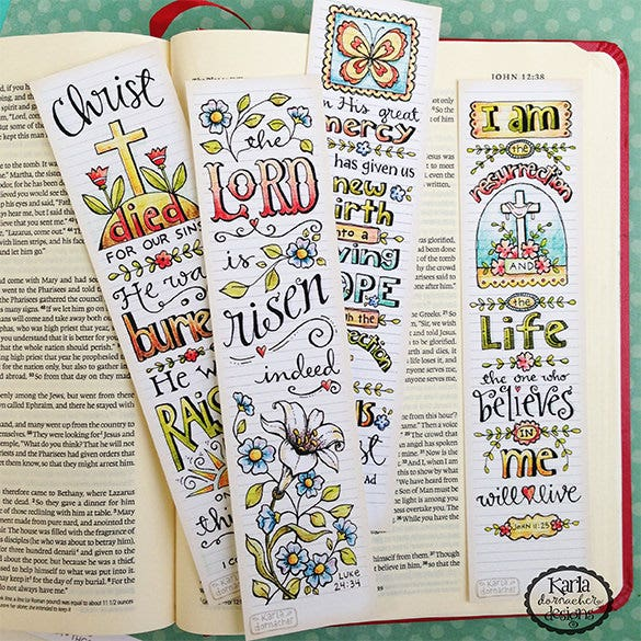 Christian Bookmark Template – 33+ Free PSD, AI, Vector EPS Format ...