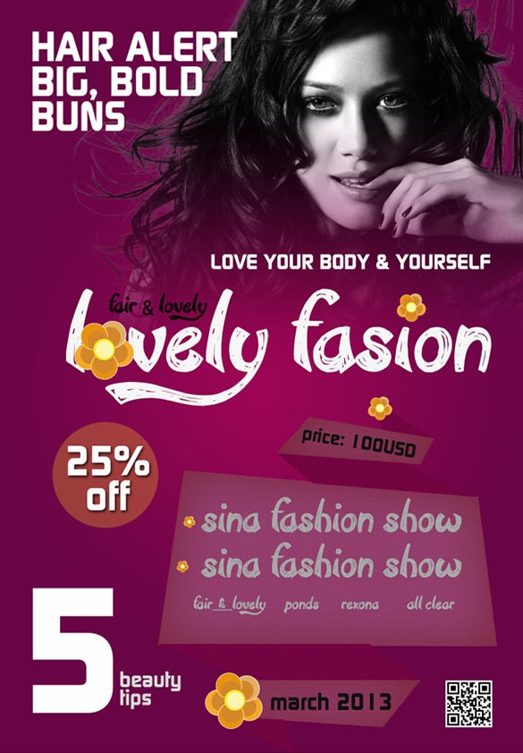 23 fashion flyer psd templates designs in word ai pages free