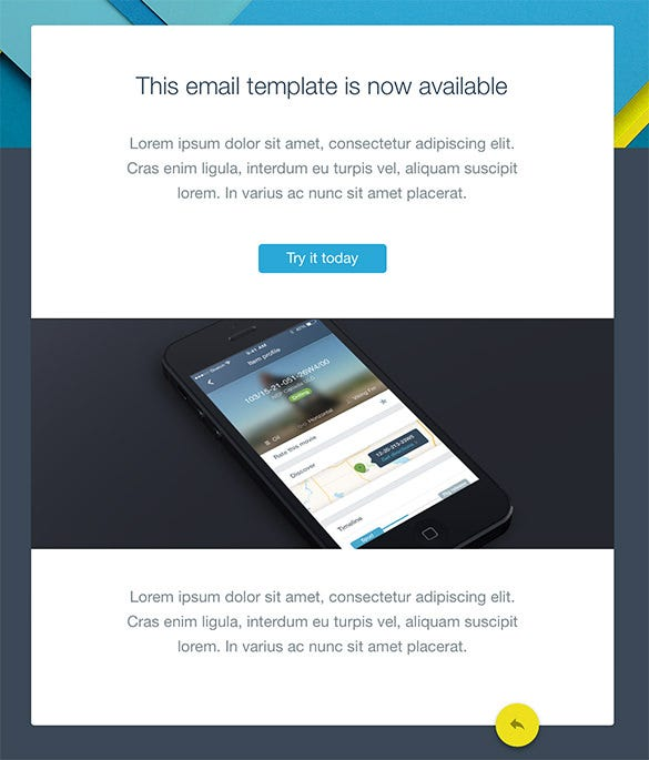 14+ Google Gmail Email Templates – HTML, PSD Files Download
