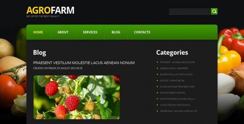 free joomla agriculture template 788x400