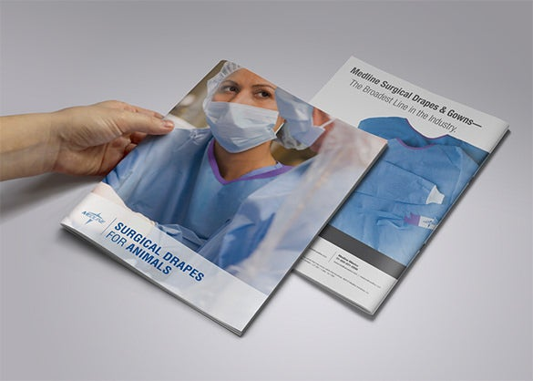 free medline surgical drapes brochure