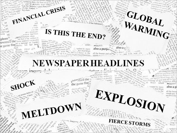 Newspaper Headline Template – 13+ Free Word, Ppt, Psd, Eps