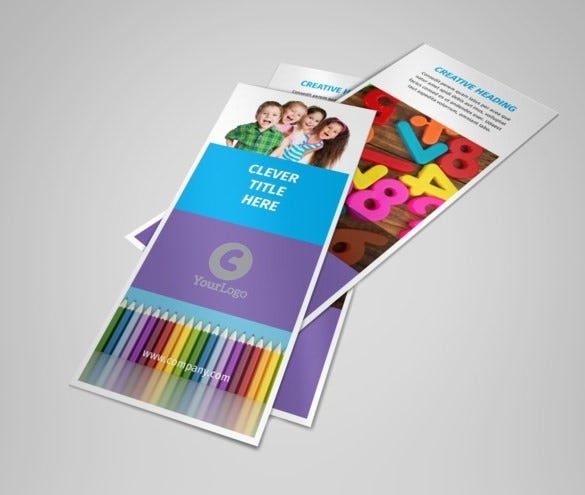 free school preschool activities flyer template download