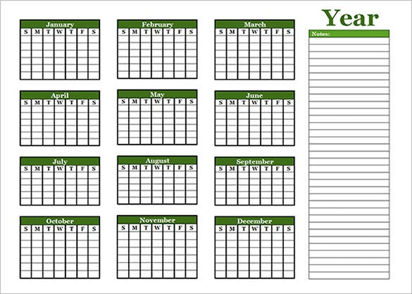Microsoft Calendar Templates  Free Word Excel Documents