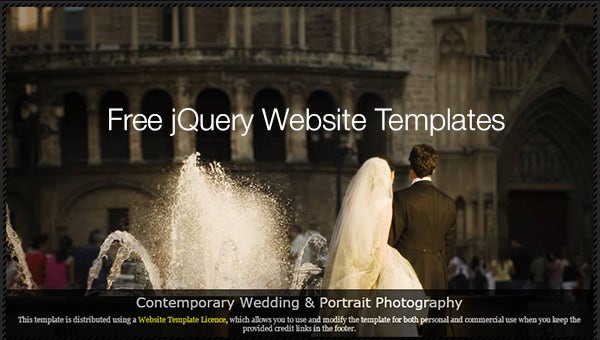 freejquerywebsitetemplates