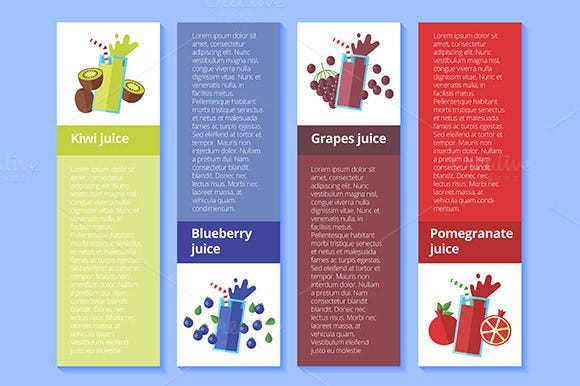 fresh fruit drinks menu
