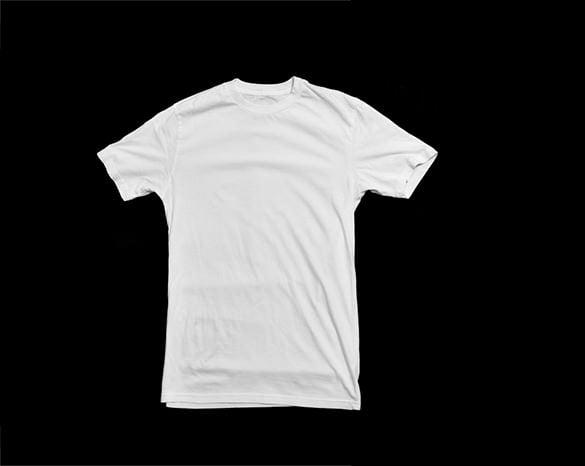 front t shirt template psd