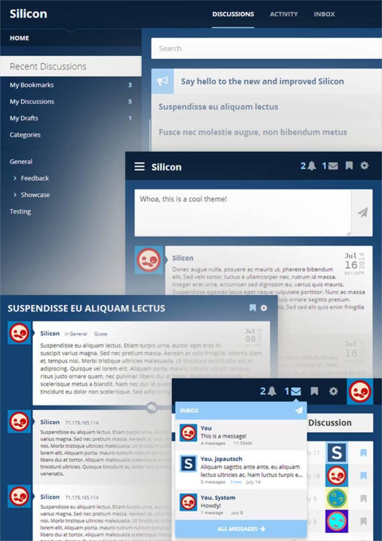 Forum Templates & Themes | Free & Premium | Free & Premium Templates
