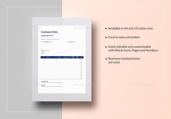 fundraiser-order-template