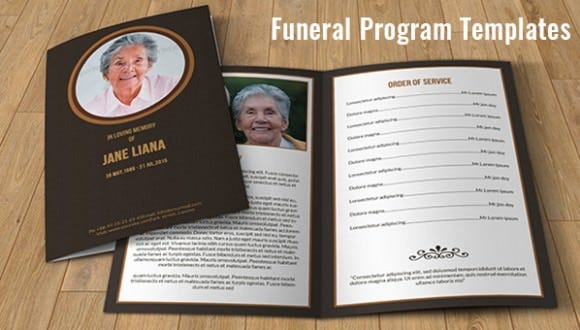 funeral service program template word – Funeral Service Program Template Word