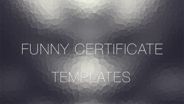 funnycertificatetemplates
