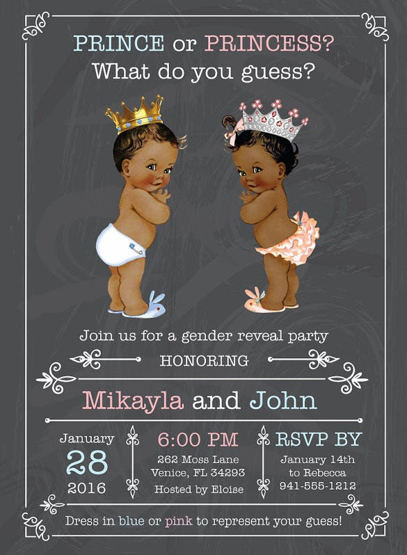 gender reveal invite 151
