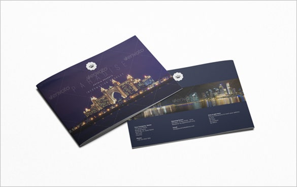 general brochure for hotels and resorts