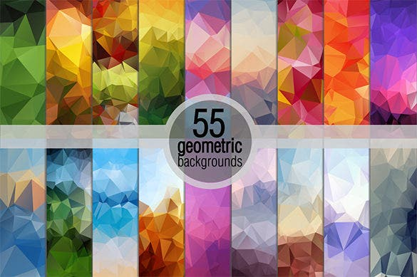 geometric illustration backgrounds