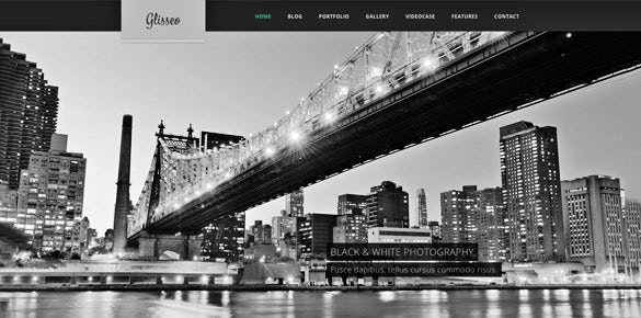 glisseo free psd website template