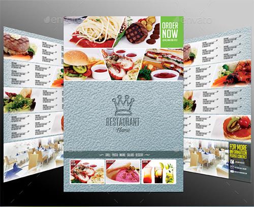 good restaurant menu template