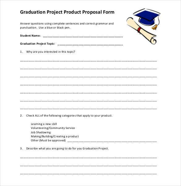 graduation-project-product-proposal-form