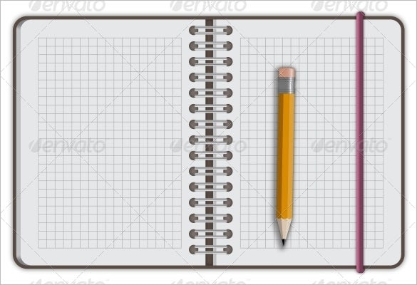 10  notebook paper templates