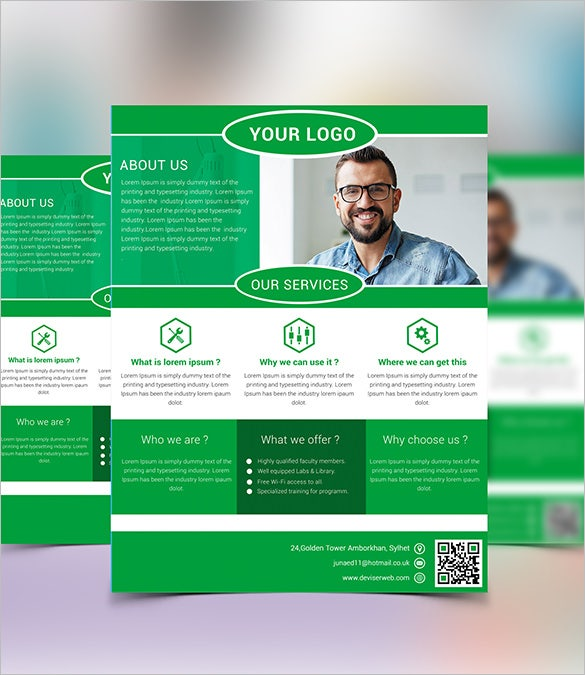 20 fabulous free business flyer templates free for Free business flyer templates