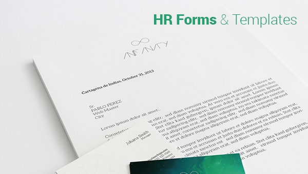 hr forms templates