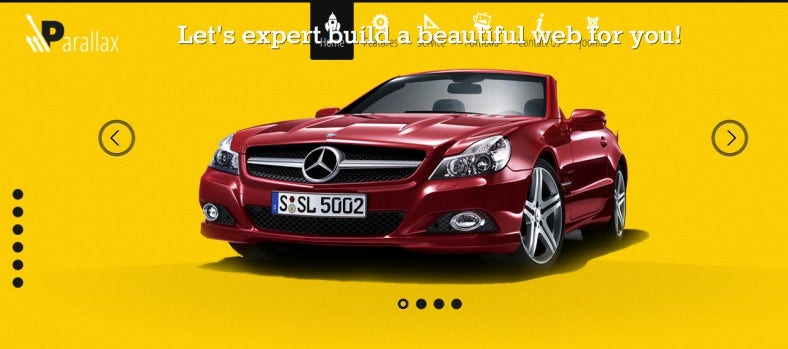html5 parallax joomla website template 788x349