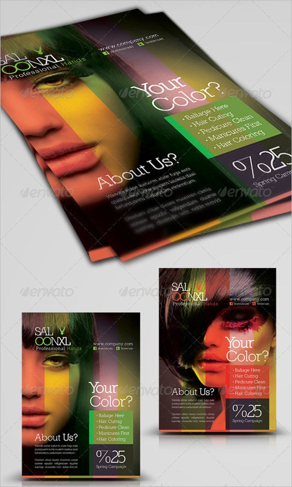 70 Beauty Salon Flyer Templates Free Psd Eps Ai