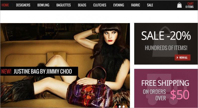 handbags store template 788x430