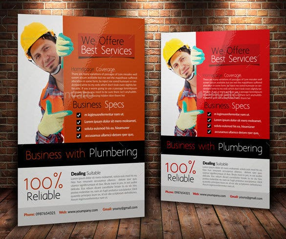 17 best handyman flyer templates amp designs word psd free