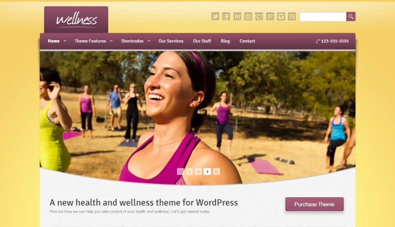 Health & Wellness WordPress Theme