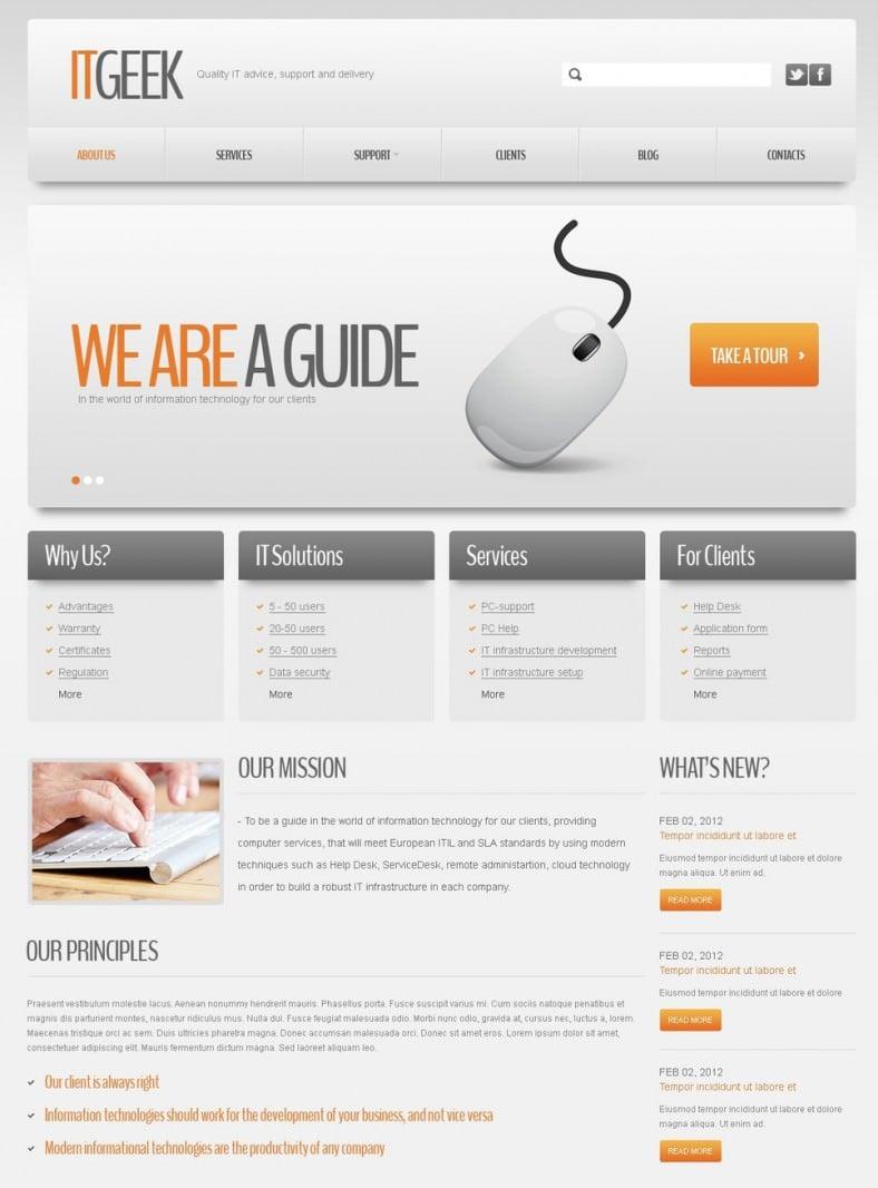 Joomla template dating website