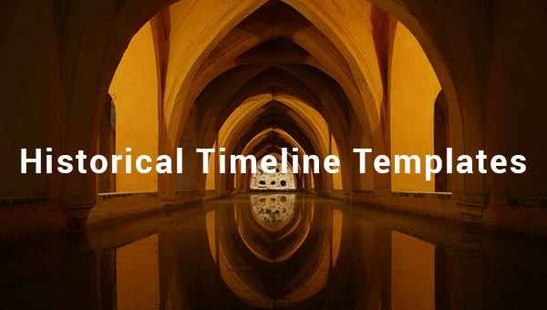 historical timeline templates