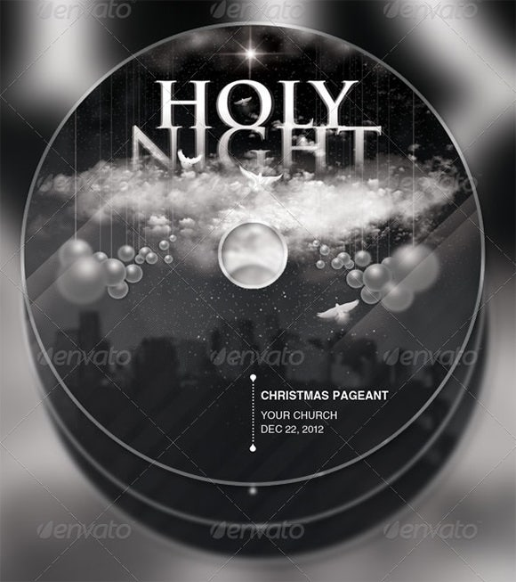 cd label template 22 free psd eps ai illustrator format