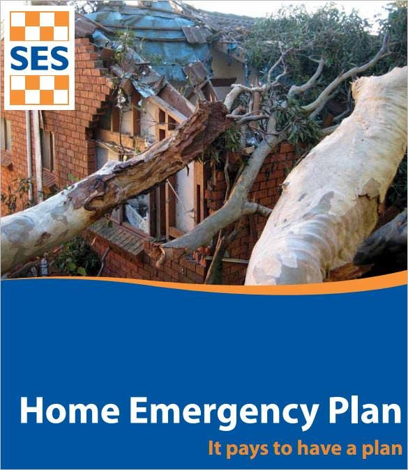 home emergency action plan template