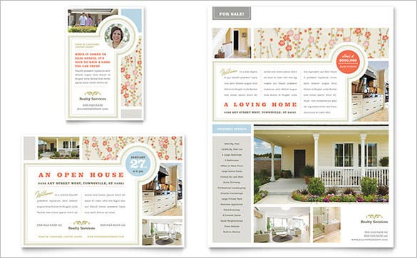 home for sale templates